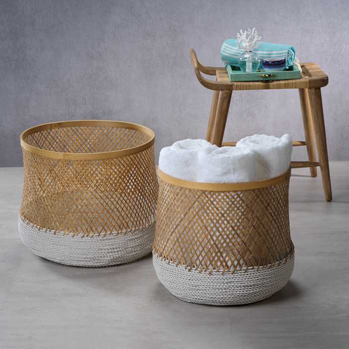Bamboo and Raffia Baskets | Interior Design, Furniture & Home Decor Online Store. Unique Accents Decor. Gift Cards Available | Colors of Design, Interior Design Services