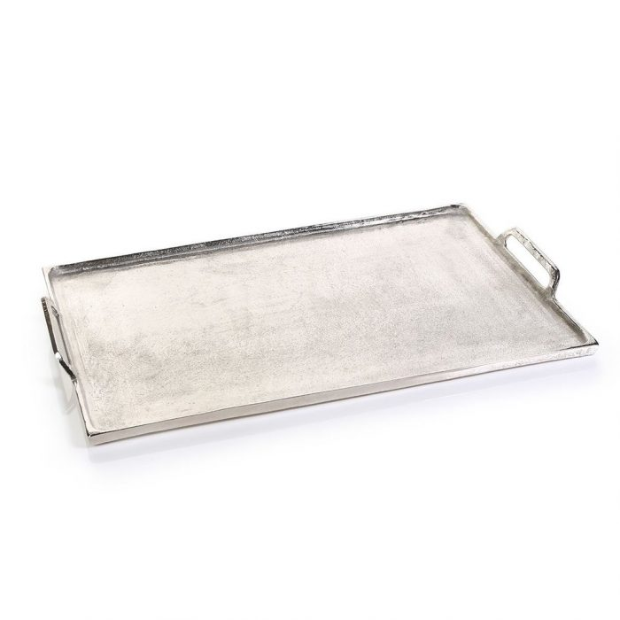 Luxe Raw Aluminum Tray | Interior Design, Furniture & Home Decor Online Store. Unique Accents Decor. Gift Cards Available | Colors of Design, Interior Design Services