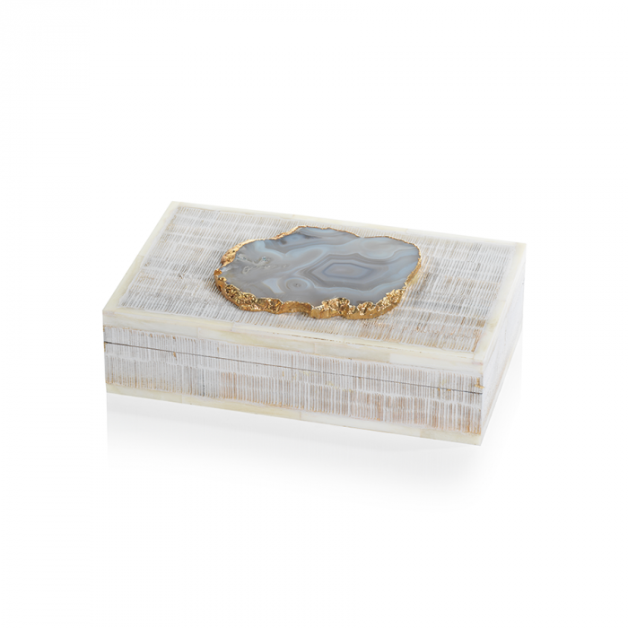 Luxe Bone Box | Interior Design, Furniture & Home Decor Online Store. Unique Accents Decor. Gift Cards Available | Colors of Design, Interior Design Services