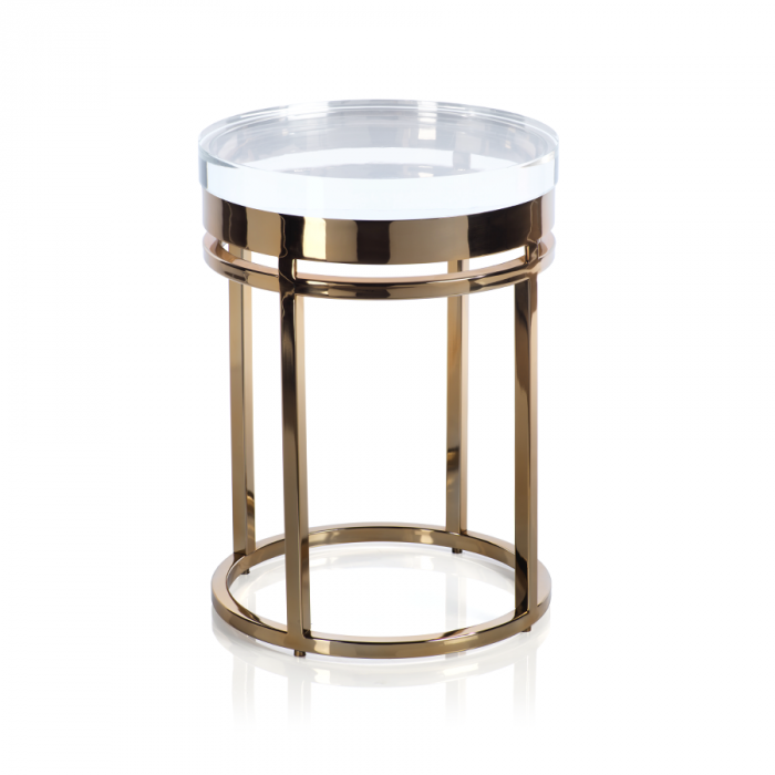 Crystal Side Table | Interior Design, Furniture & Home Decor Online Store. Unique Accents Decor. Gift Cards Available | Colors of Design, Interior Design Services