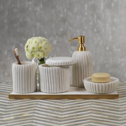 Carrara Vanity Tray | Interior Design, Furniture & Home Decor Online Store. Unique Accents Decor. Gift Cards Available | Colors of Design, Interior Design Services