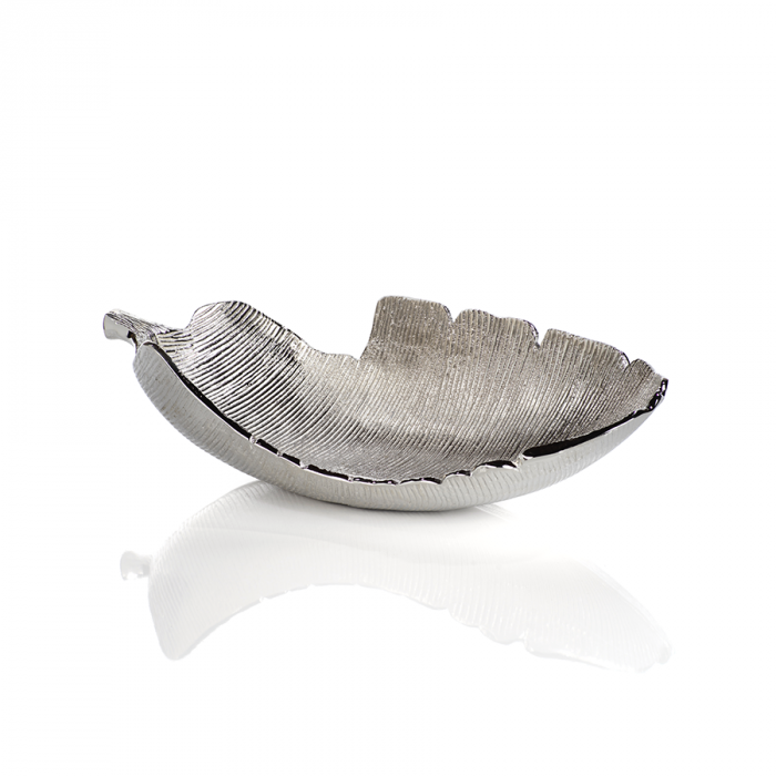 Silver Leaf Bowl | Interior Design, Furniture & Home Decor Online Store. Unique Accents Decor. Gift Cards Available | Colors of Design, Interior Design Services