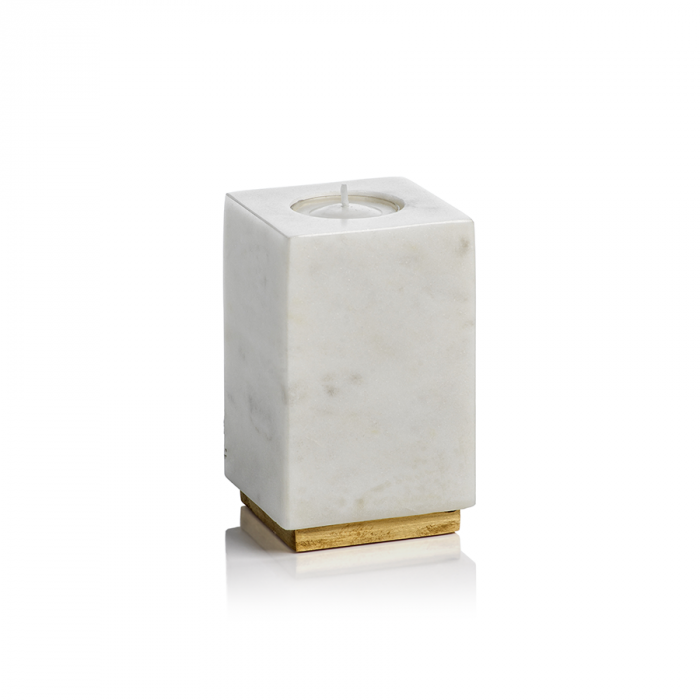 White Marble Candle Holder | Interior Design, Furniture & Home Decor Online Store. Unique Accents Decor. Gift Cards Available | Colors of Design, Interior Design Services