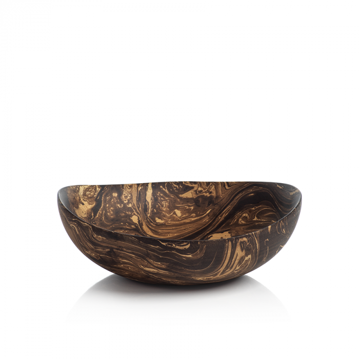 Marbleized Straight Bowl | Interior Design, Furniture & Home Decor Online Store. Unique Accents Decor. Gift Cards Available | Colors of Design, Interior Design Services