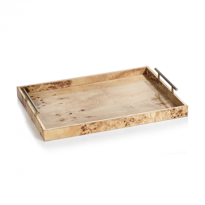 Tray With Gold Handles | Interior Design, Furniture & Home Decor Online Store. Unique Accents Decor. Gift Cards Available | Colors of Design, Interior Design Services