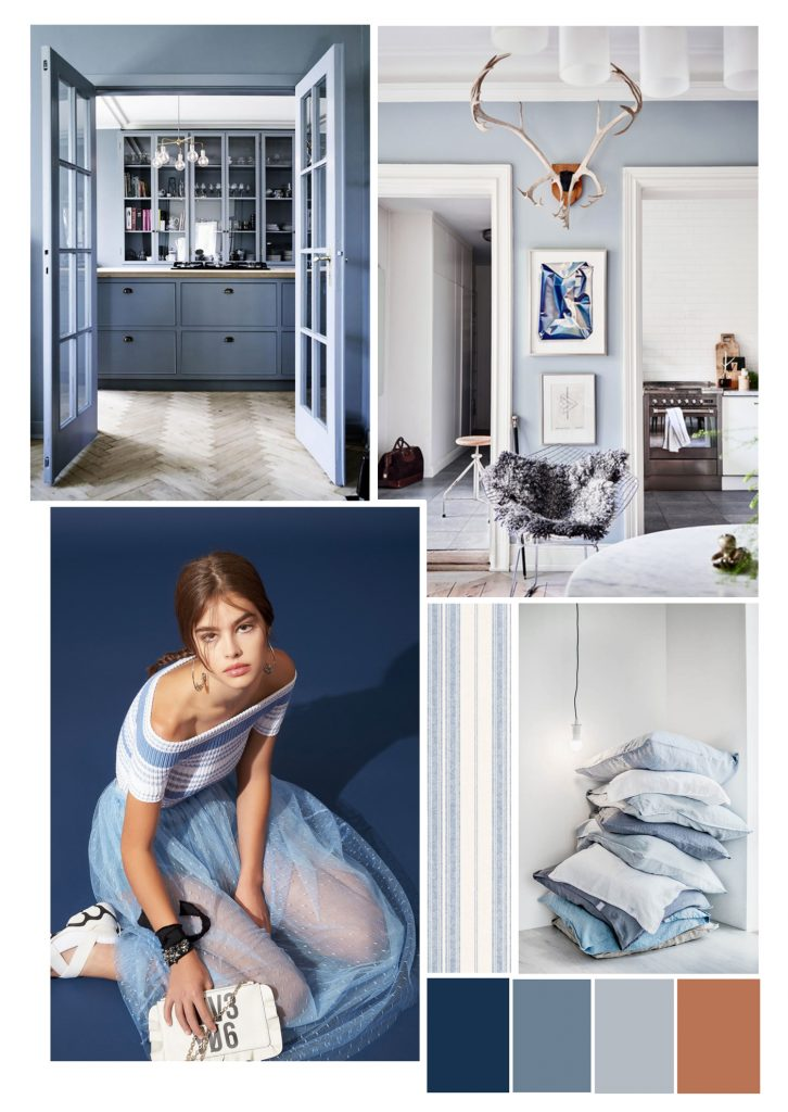 Blue Interior - Color Trend - Colors of Design